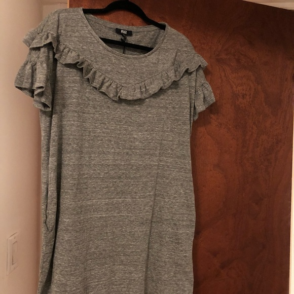 90d42ccb6a Adalie dress in Heather gray by Paige size L